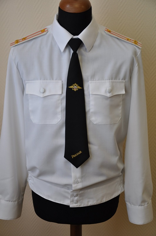 Форменная рубашка, пошитая на швейной фабрике Узловая